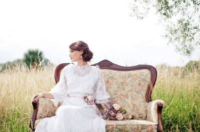 3 características de la novia con estilo ecléctico