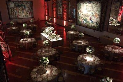 Cómo celebrar una boda con mucho arte