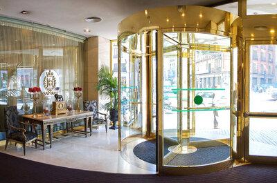 Hotel Emperador: tu boda en el corazón de Madrid
