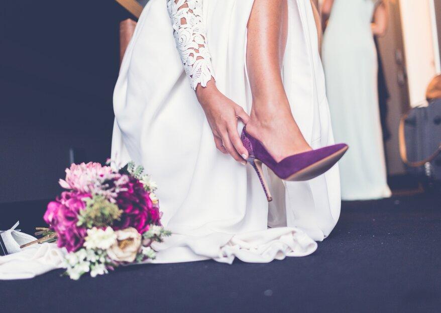 bded7912 Cómo elegir los zapatos de novia en 5 pasos