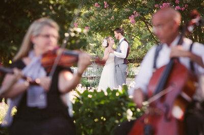 Elige un ensamble de música clásica para ambientar tu boda