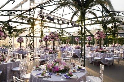 Options: las ideas más chic para decorar las mesas de tu boda