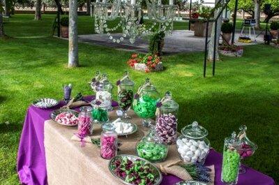 Los candy bar más dulces: 5 ideas originales para tu boda con Little Moments by Anna&Lola