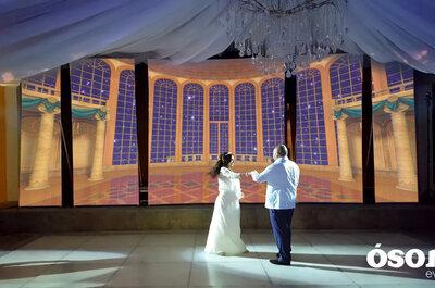 ¿Y si la decoración de tu boda incluyera video mapping? ¡Ellos lo hacen posible!