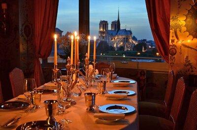 Conheça os 10 restaurantes mais românticos do mundo!