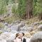 Os noivos tiveram uma atitude muito natural rodeados de um espectacular ambiente.