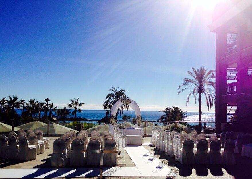 ¿Quieres celebrar tu boda frente al mar en un hotel de cinco estrellas? ¡Descubre Gran Hotel Guadalpin Banus!