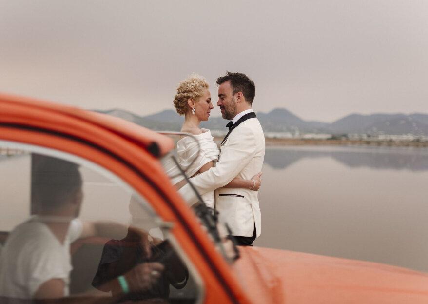 Una luz única: la boda de Paula y Guille