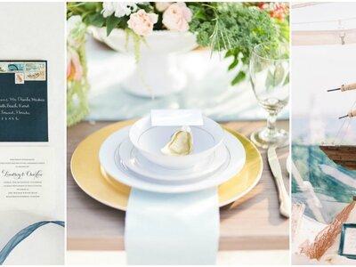 Frische Ideen für eine Hochzeit im maritimen Style – Ahoi, Trendwelt!