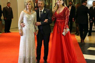 Descubre los dos vestidos que desataron polémica en la boda de Messi y Antonella