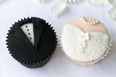 Dekoracje weselne: cupcakes. Trendy 2015! Koniecznie zobacz!