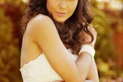 Flores naturais nos penteados das noivas: toque bucólico e charmoso
