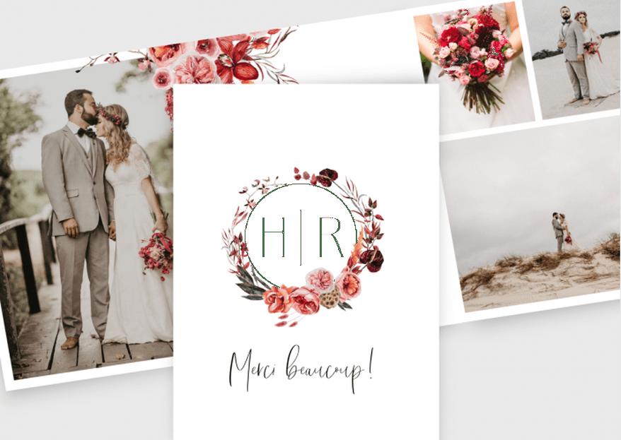 Les 10 meilleurs textes pour les cartes de remerciement de mariage