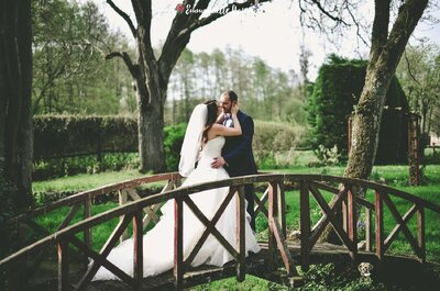 Sandrine + Sébastien : Un joli mariage en Champagne-Ardenne avec une raclette au menu !