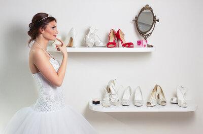 Cinco diseñadores internacionales que vestirán los pies de las novias con estilo