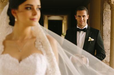 Un amor para recordar: La boda 'All White' de Andrea y José en Aguascalientes