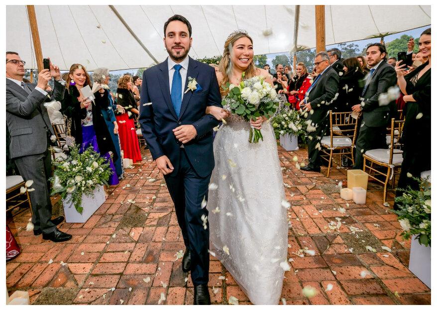 La boda de Juli y Nicolás: inspiración real para un día mágico y ¡al aire libre!