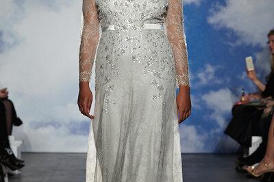 Romance moderno: Vestidos de novia primavera 2015 de Jenny Packham