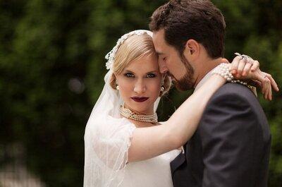 Styled Shooting: Eine glamouröse Hochzeit im