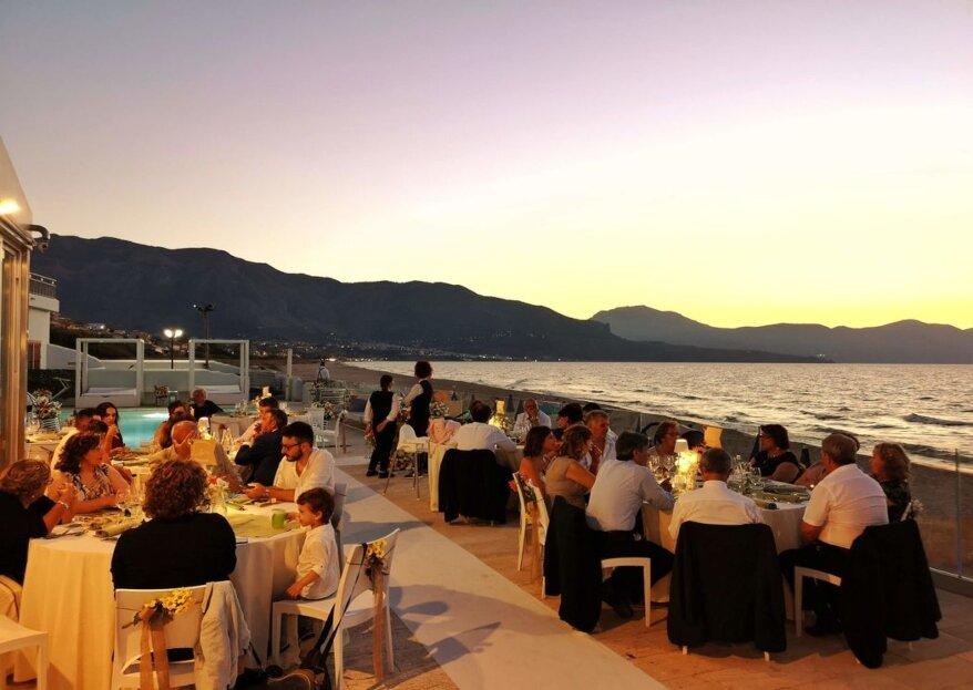 Per un matrimonio da sogno in riva al mare, affidatevi alle quattro stelle dell'Hotel La Battigia