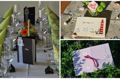 Kreative Kartenserien für Ihre Hochzeit