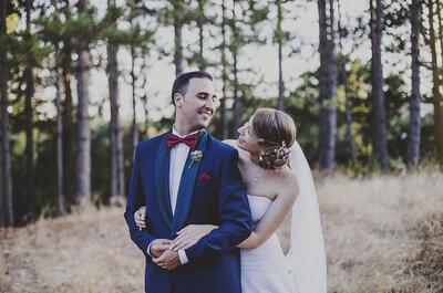 Toda una vida por delante: la boda de Lidia y Adrián