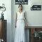 Berengere Cordera, vestido de noiva duas peças.