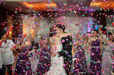 Farbkick für die Hochzeit: Fröhliche Farbkonzepte für die bunte Hochzeitsdekoration