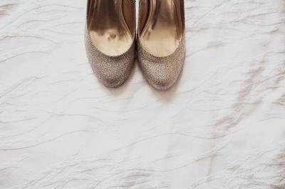 Utiliza zapatos de novia color nude para tu boda 2013