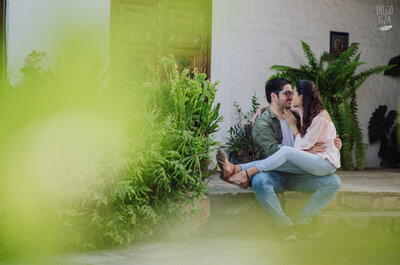 Claudia y Álvaro: definitivamente una mágica historia de amor