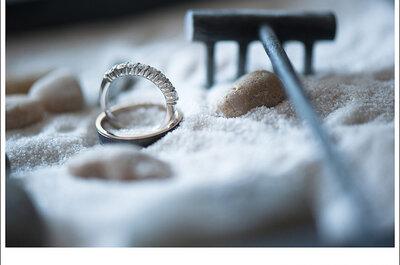 Fotos originales de los anillos de boda