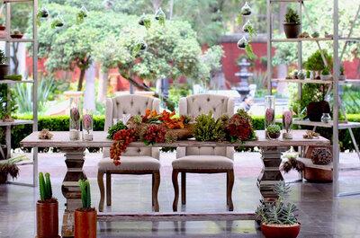 Las 12 mejores empresas de decoración para bodas en la CDMX: Una ambientación perfecta