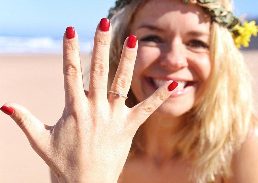 Madalena Brandão está noiva!