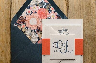 Inviti di nozze 2015: tante idee originali da non perdere