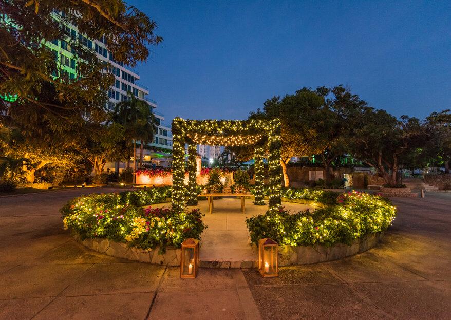 Hotel Hilton Cartagena, donde el mar rodea tu boda