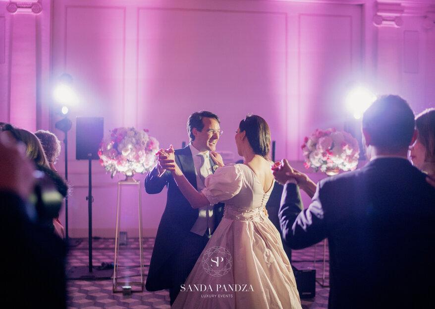 Tutti i dettagli del matrimonio da favola di Isabelle Adriani e del Conte Vittorio Luigi Palazzi Trivelli.