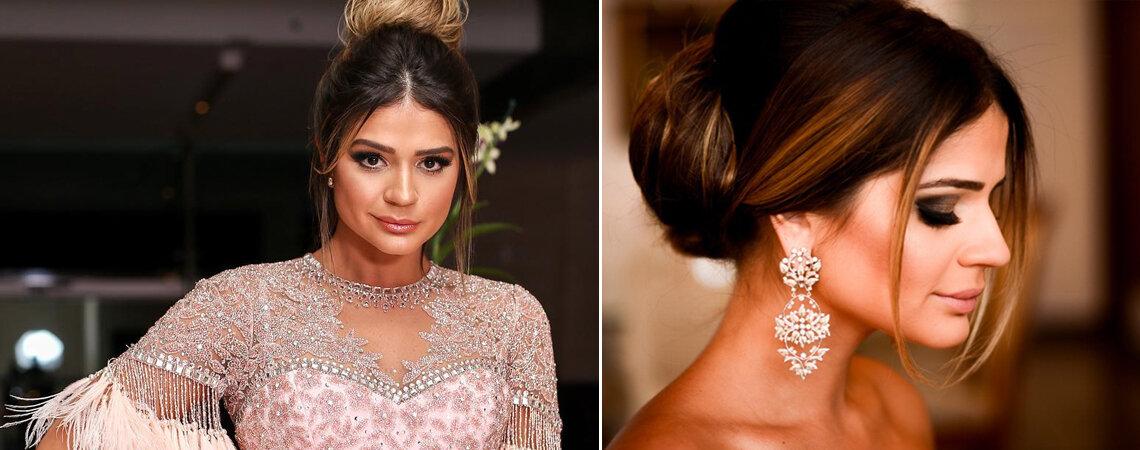 7 penteados de Thassia Naves para você se inspirar para o seu casamento