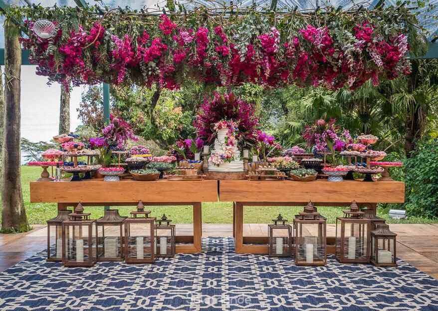 Cantos e recantos de encanto: a decoração mais IN para o seu casamento!
