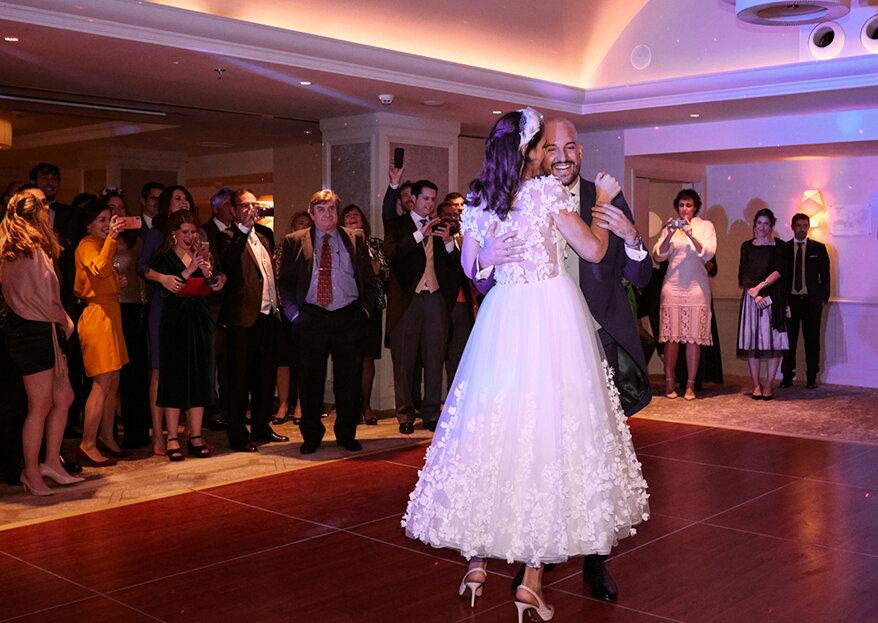 Elegancia, diversión y recuerdos inolvidables: la boda de Sofía y Antonio
