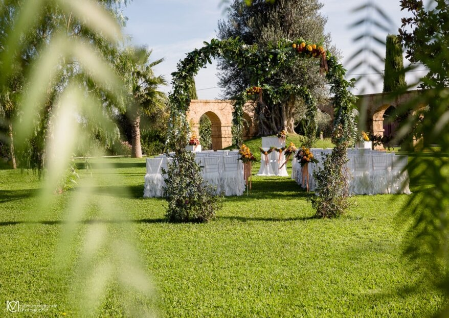 Un sogno da coronare nel verde, ma a pochi passi dalla capitale, è possibile! Scoprite i lussureggianti giardini di Villa dei Desideri