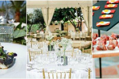 Los 8 mejores catering para bodas de Alicante