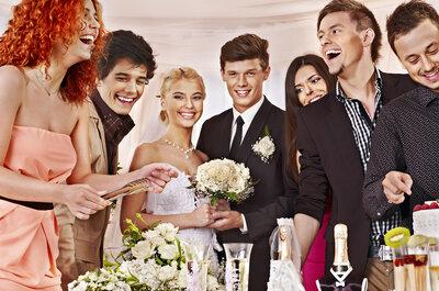5 ideas originales para divertir a tus invitados el día de tu boda