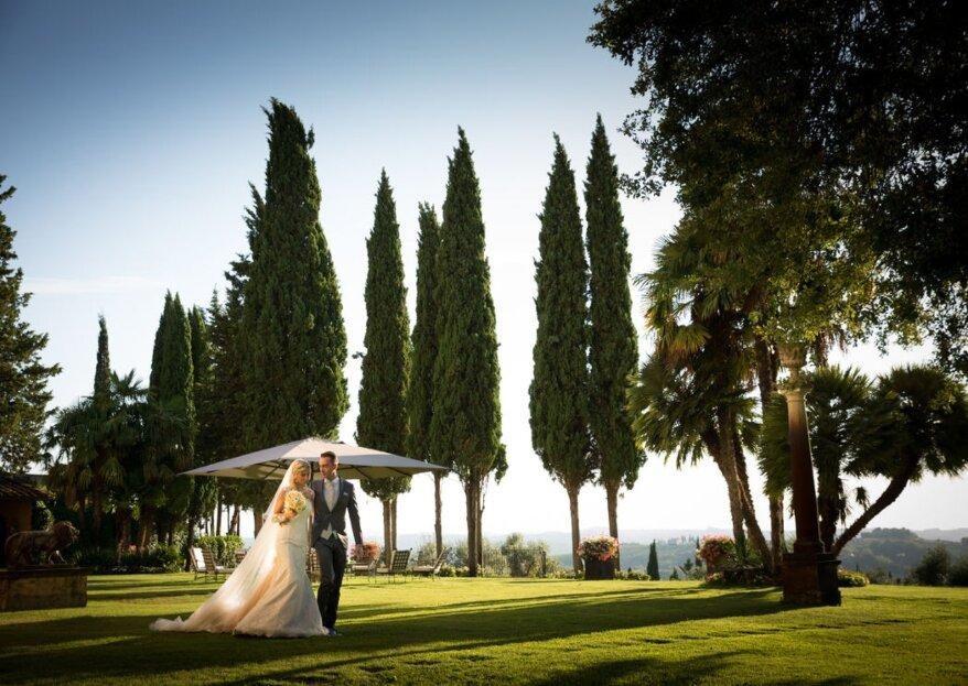 Accogli i tuoi invitati di nozze in una location meravigliosa