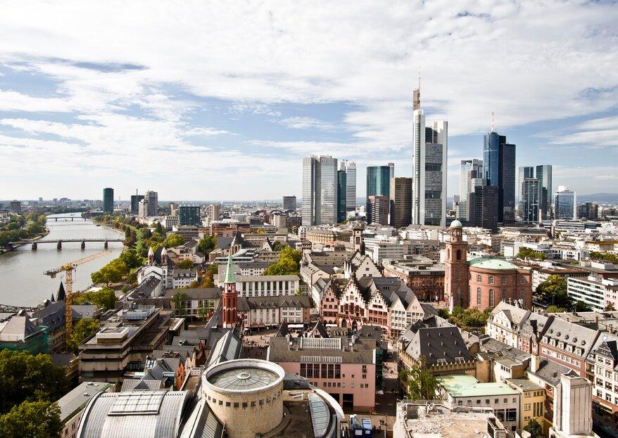Einzigartige Hochzeitslocations in Frankfurt und Umgebung – eine Auswahl!