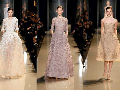 ELIE SAAB Haute Couture Autmn Winter 2015-16 Fashion Show