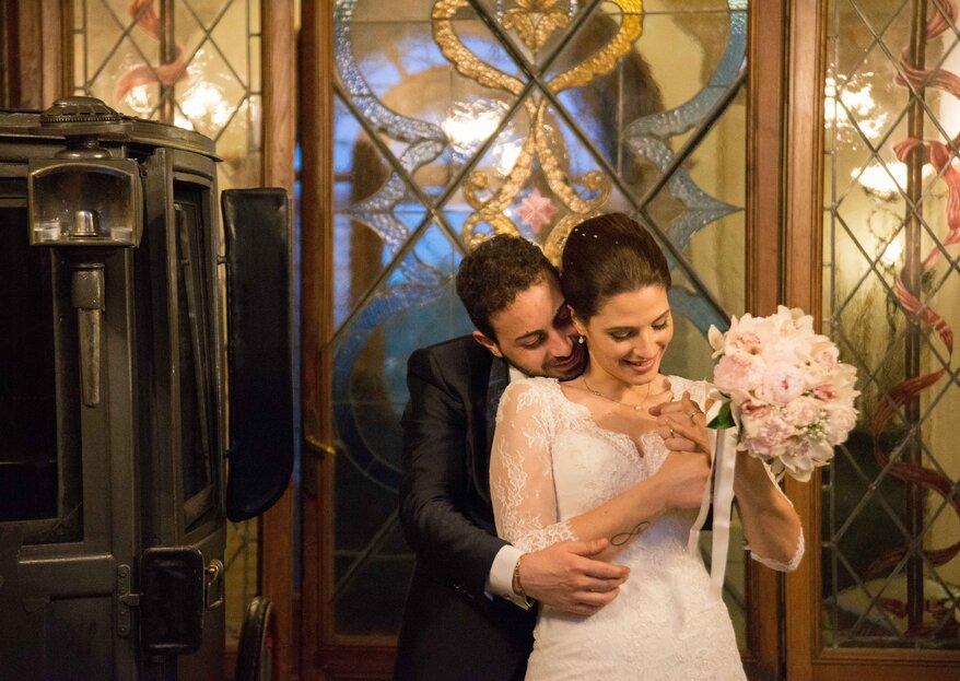 """""""Ci sarà un posto dove l'aria non parli di te?!"""": le nozze di Martina e Roberto"""