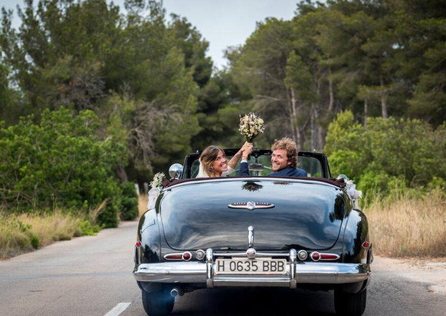 Los coches con más estilo para llegar a tu boda