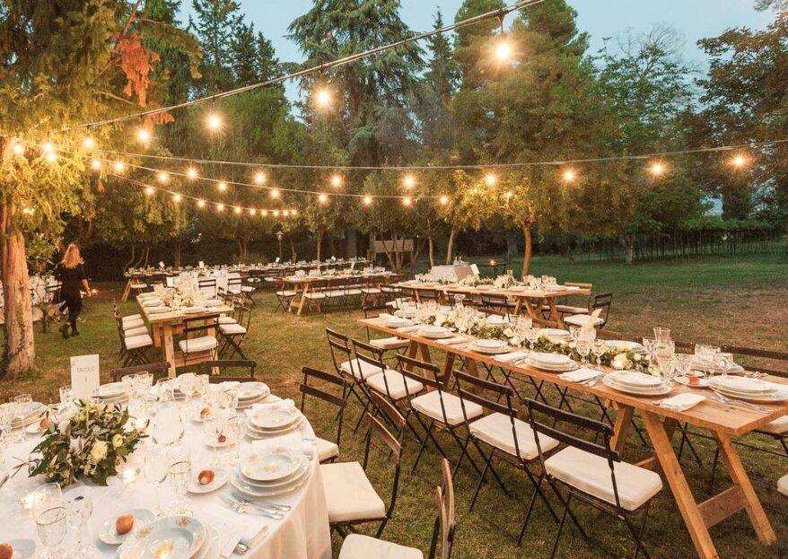 Servizi Cherubini Banqueting & Catering per puntare all'essenza e creare un matrimonio speciale