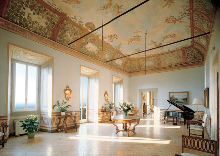 Park Hotel Villa Grazioli, il luogo ideale per giurarsi amore eterno con una vista incredibile sulla Città Eterna