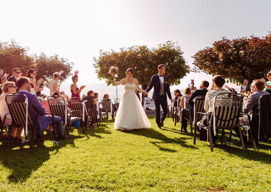 Das Seehotel Hermitage als passende Szenerie für eine atemberaubende Hochzeitsfeier in Luzern
